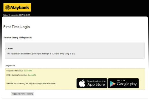 Registrasi Maybank2u